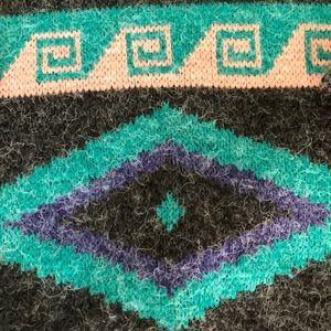 American Vintage Sweaters - Vintage Oversized Southwestern Aztec Sweater